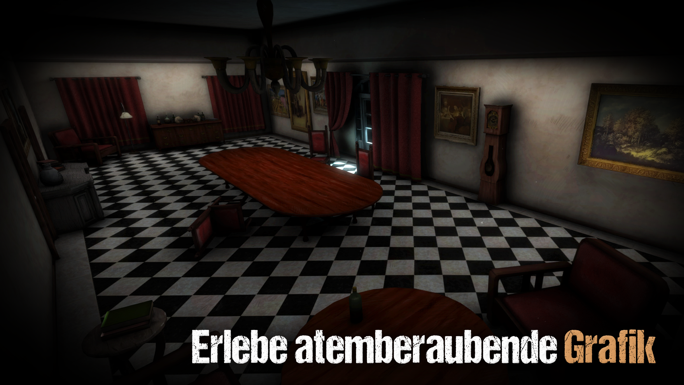 Sinister Edge 3D Horror Game Screenshot